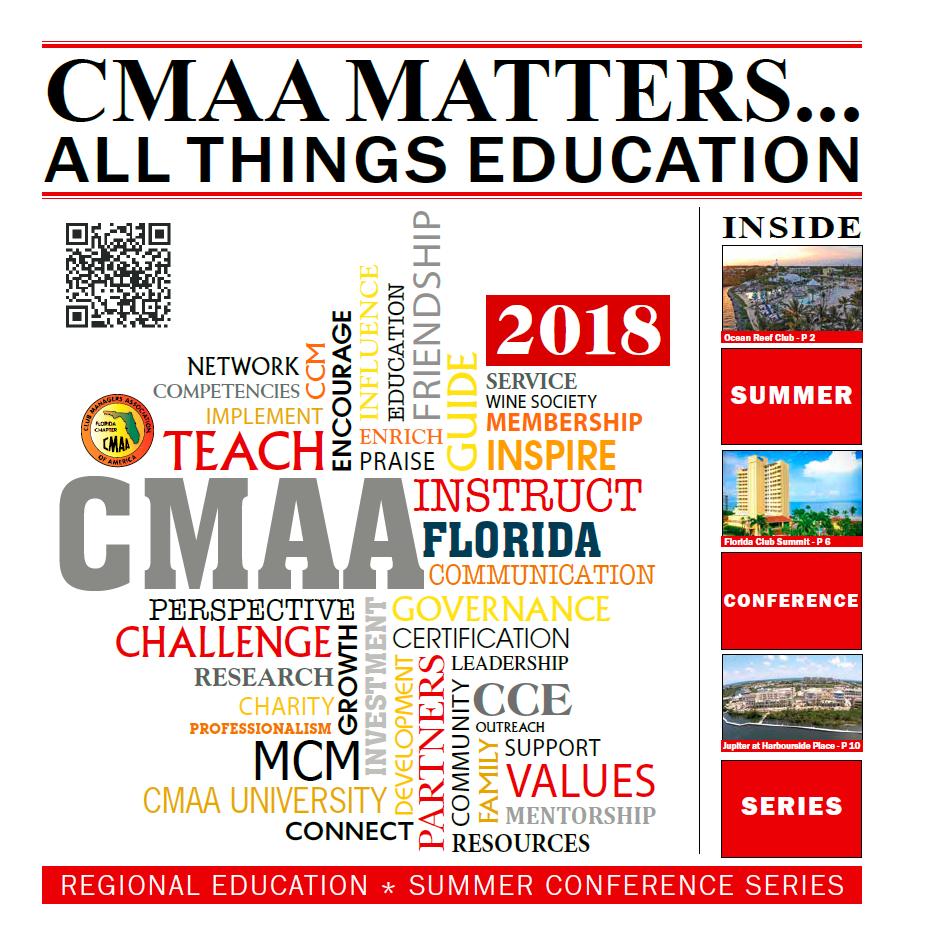 Florida Chapter Cmaa Education